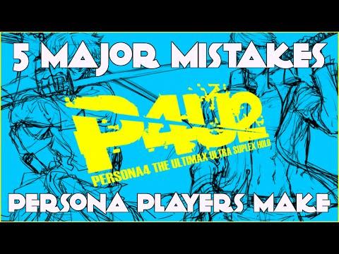 「P4U2」5 Major Mistakes Persona Players Make