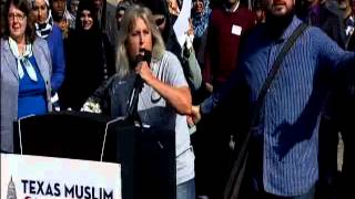 Christine Weick interrupts Texas Muslim Capitol Day speaker thumbnail
