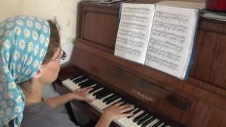 №2.  Уроки музыки  Загуляева Ливия.   15 лет.   26. 06. 2017