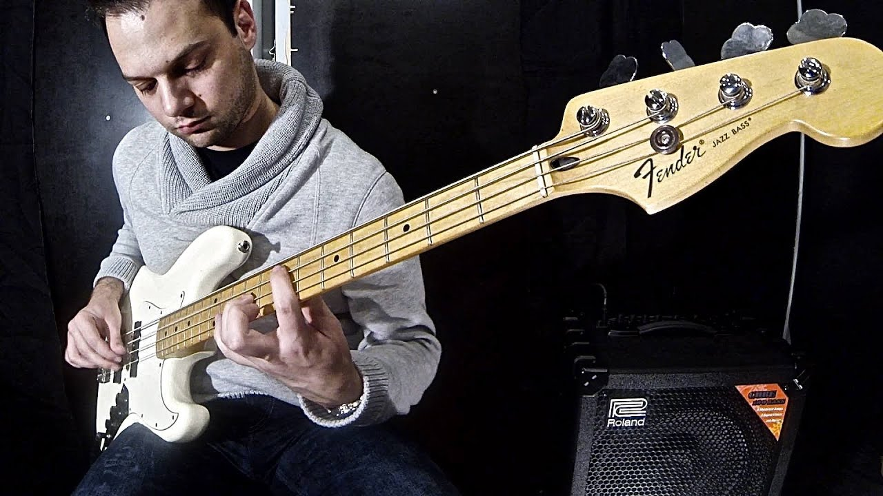 how to play beat it on bass guitar