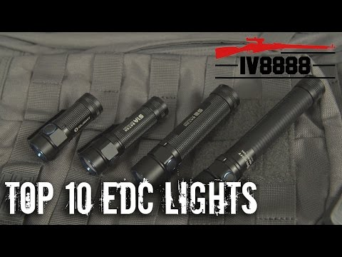 Top 10 EDC Flashlights