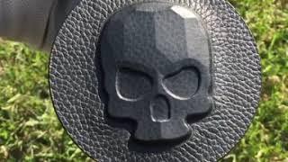 [웨스트스타일] 락골프 락스컬 가죽 골프 캐리어 골프백…