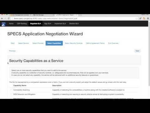 SPECS Web Container Demo