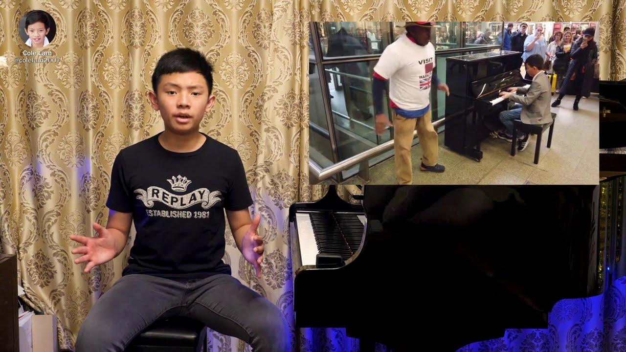 Abba Mamma Mia Piano Cover | Cole Lam 13 Years Old