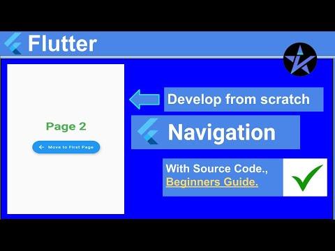 Navigation in Flutter - Flutter Tutorial