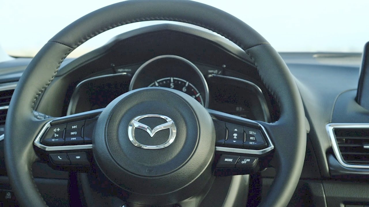 2017 Mazda3 Sedan Interior Youtube