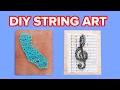 Easy String Wall Art