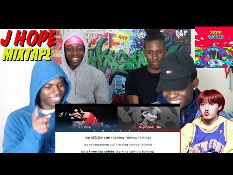 J-Hope - 'Base Line' & 항상 (HANGSANG) Feat. Supreme Boi - REACTION
