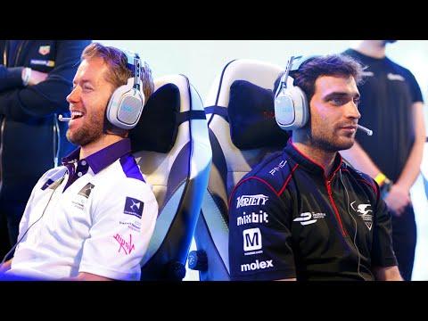 Forza 6 Formula E Race Off: Sam Bird vs Jerome D'Ambrosio vs Gamers!