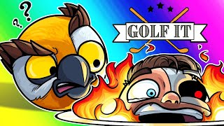 "Golf-it Funny Moments - ""Troll-in-One"" Challenge Map!"