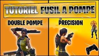 FORTNITE - TUTORIEL: PRÉCISION POMPE + DOUBLE POMPE (MANETTE)