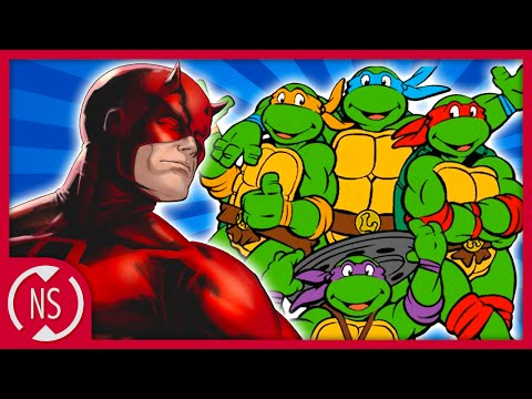 Did DAREDEVIL Create the NINJA TURTLES?! || Comic Misconceptions || NerdSync