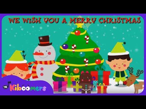 We Wish You a Merry Christmas | Kids Christmas Songs | Christmas Carols | The Kiboomers