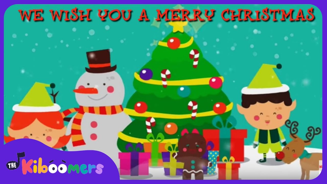 We Wish You a Merry Christmas | Kids Christmas Songs | Christmas ...