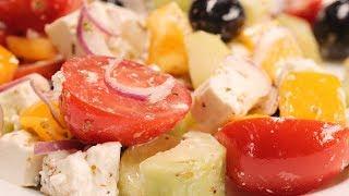 Греческий салат. Рецепт от Всегда Вкусно!