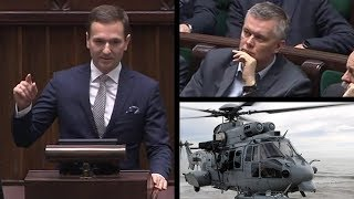 Poseł PiS mistrzowsko zadrwił z Gabinetu Cieni ws. Caracali - zgłasza wniosek o dymisję Siemoniaka