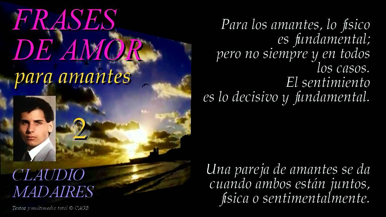 Frases De Amor Amantes Vol 3: FRASES DE AMOR PARA AMANTES (2)