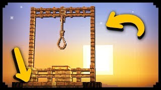 ✔ Minecraft: How t๐ make a Working Gallows