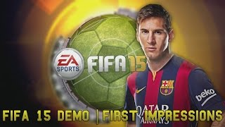 Fifa 15 Demo | First Impressions - Gameplay, thoughts & The Ignite engine for PC! Thumbnail