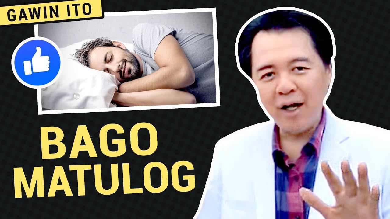 Gawin Ito Bago Matulog -  by Doc Willie Ong. #684b