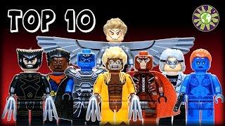 TOP 10 Lego Marvel X-Men Knockoff Minifigures