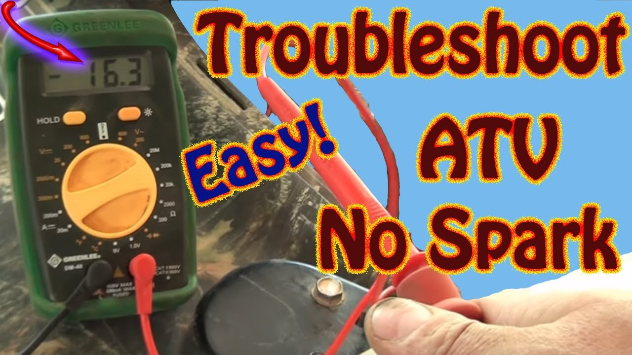 Diy How To Troubleshoot Repair A No Spark Condition On Polaris 1996 425 Magnum Lights Wiring Diagram Sportsman Atv Manual