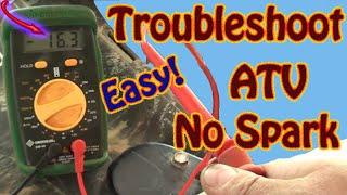DIY How to Troubleshoot & Repair a No Spark Condition on a Polaris Sportsman ATV  Repair Manual