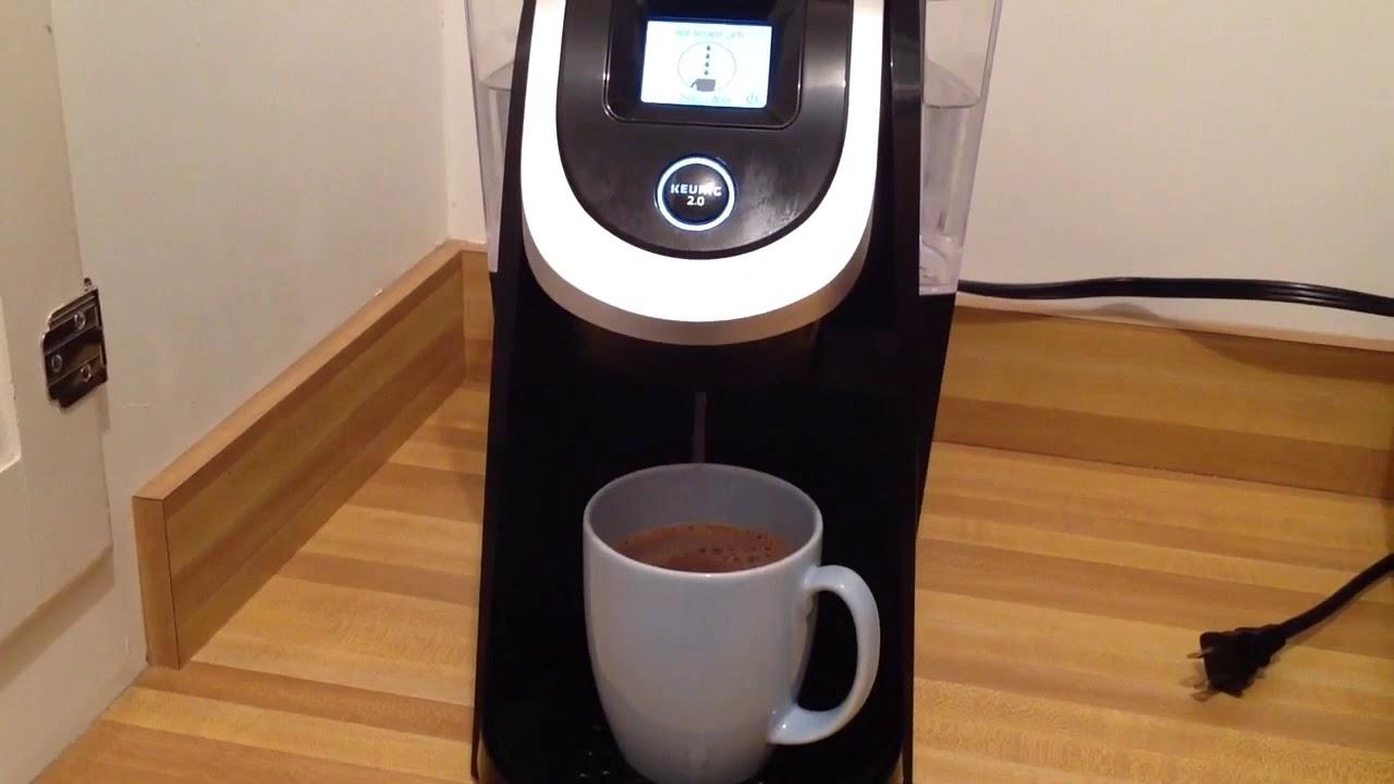 Keurig 2 0 K200 Plus Series Dispensing Hot Water Cocoa