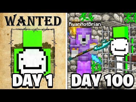 Surviving 100 Days as a Bounty Hunter..