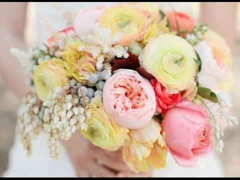 most popular wedding flowers youtube. Black Bedroom Furniture Sets. Home Design Ideas