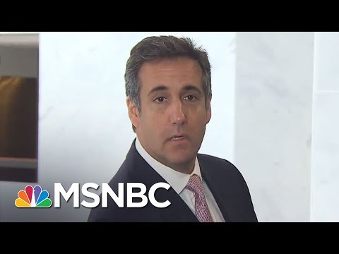 Legal Woes Deepen For Donald Trump Team As FBI Raids Cohen Work, Home | Rachel Maddow | MSNBC