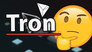 Tron TRX Is Kind Of Done... They Say Huge Things Are On The Way?!