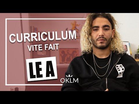 Youtube: LE A – Curriculum Vite Fait