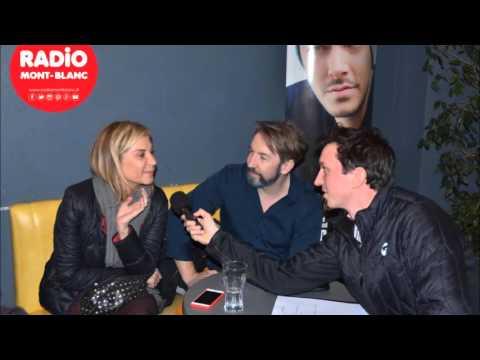 Michael Youn et Michele Laroque Interview - Le fantôme de Canterville