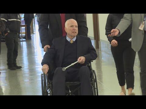 VIDEO: AZ Senate may change rules for replacing McCain