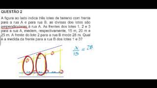 Baixar aprendendo matematica com o Tio Frank - Teorema de Tales