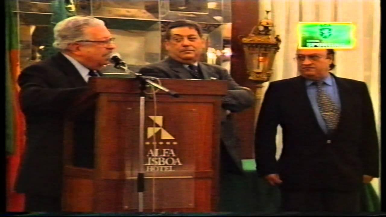 Entrega dos prémios stromp em 17/12/1998