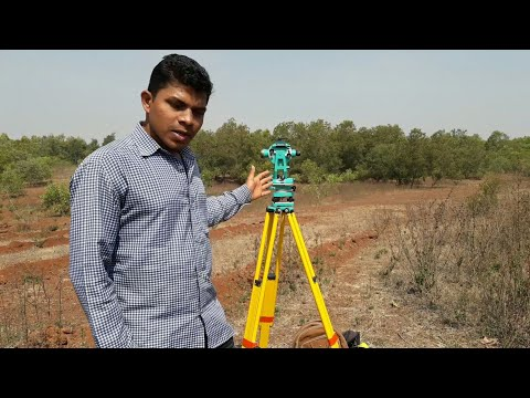 Surveying Instruments For Road Field Measurement