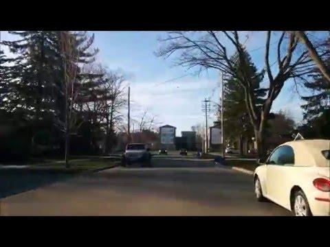 Driving through London Ontario