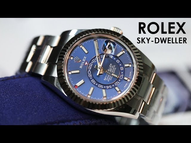 ROLEX SKY-DWELLER WATCH 326934 #BigWatchBuyers