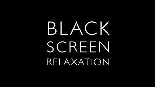 4K - STEREO MIX Black Screen, Heavy Rain & Thunder on Tin Roof - high quality recording