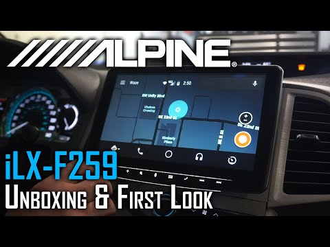 alpine-ilx-f259-unboxing-and-first-look-|-new-product-spotlight
