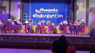 Chempaka  kindergarten Annual program Maria Pitache by Minnu & Friends