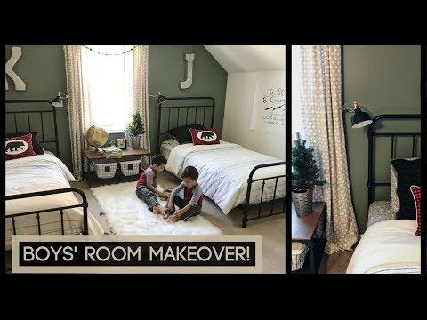 LITTLE BOYS' ROOM MAKEOVER!! | Boys' Room Ideas 2017