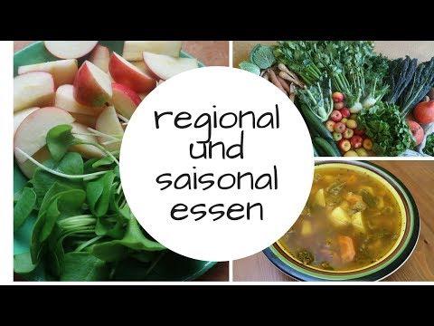 So verwenden wir regionale LEBENsmittel aus unserer Biokiste!!