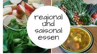 So verwenden wir regionale und saisonale LEBENsmittel!