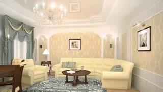 видео Дизайн гостиной в частном доме (фото): простор для фантазии