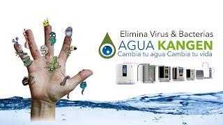 ELIMINA VIRUS y BACTERIAS en 30 segundos - PROTEGETE CON AGUA KANGEN (2.5 ph)
