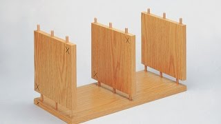 New Wood Doweling Jig - fast simple fits always  - like furniture factory