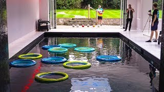 SWIMMING POOL FOOTBALL!